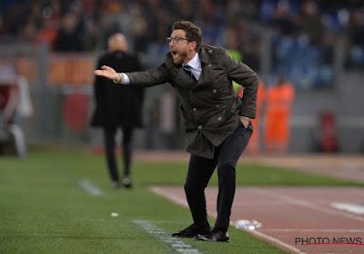 Eusebio Di Francesco vlucht spelersbus in zonder media te woord te staan en pleegt zo inbreuk op UEFA-regels