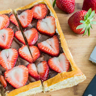 Strawberry Nutella Puff Pastry.