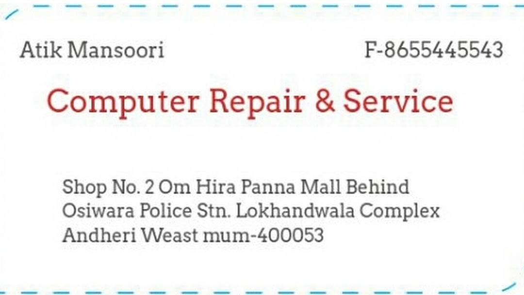 Computer Repair Services Andheri West Quick Service - All