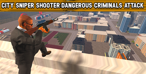 City Sniper Shooter : Dangerous criminal Shooter  screenshots 1