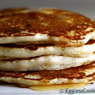 Eggless Pancakes.