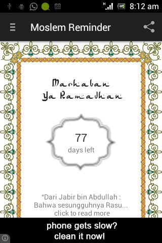 Moslem Reminder
