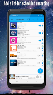 Cloud Radio Pro - Record , Lyrics & Music Screenshot