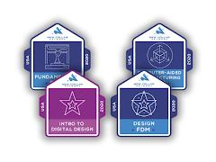 New Collar Master Badge Job Skills Digital Badge Bundle - Self Paced