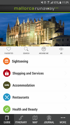 Mallorca RunAway Travel Guide - screenshot