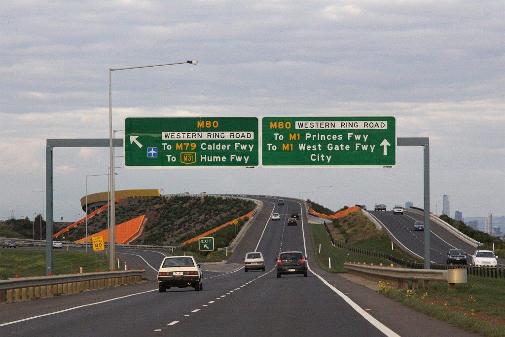File:Deer Park Bypass eastbound at Western Ring Road.jpg - Wikimedia Commons
