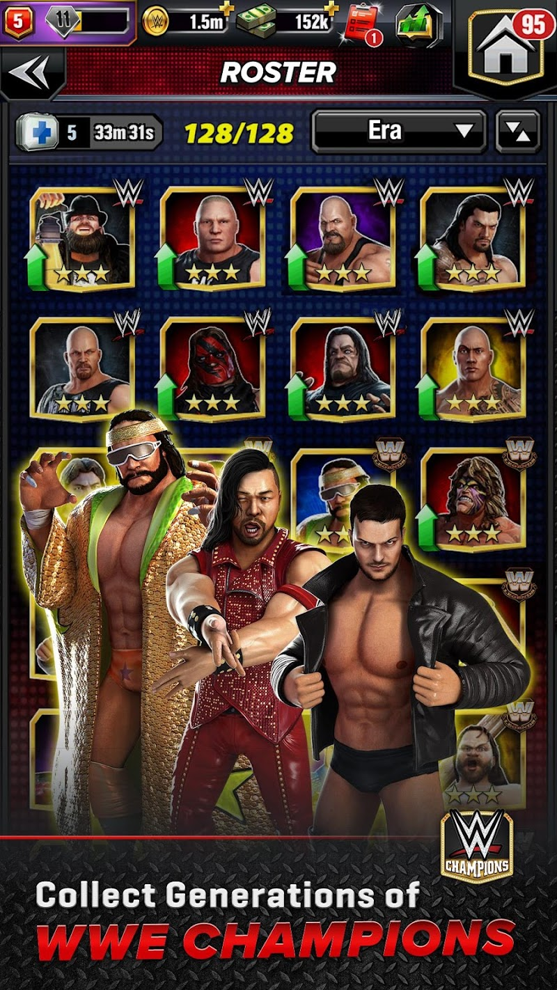 WWE Champions - Free Puzzle RPG Game Screenshot 2