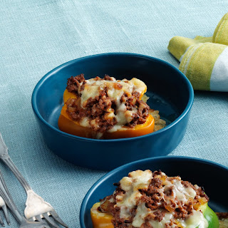 Stuffed Peppers with Ground Beef and Cheese Recipe