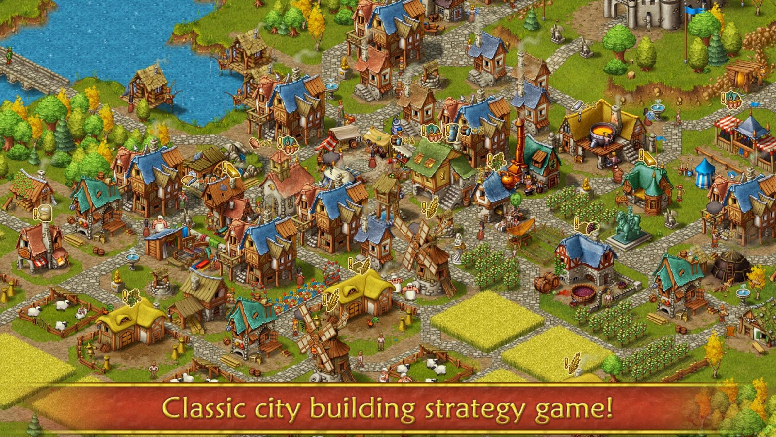 Townsmen Premium- screenshot