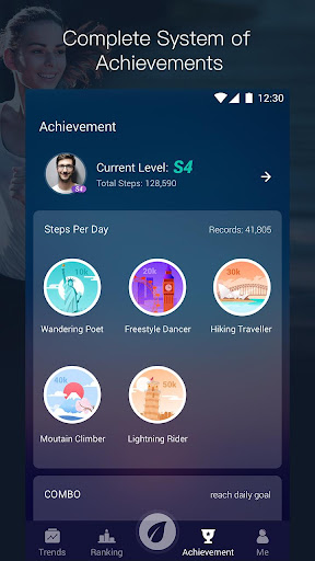 Step Tracker - Walking for weight loss, Pedometer for PC