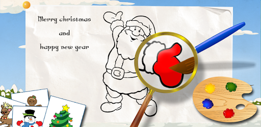 Kids Coloring Book Christmas Apps On Google Play