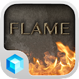 Flames Hola 3D Launcher Theme icon