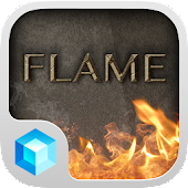Flames  Hola 3D Launcher Theme