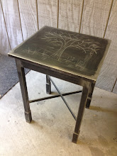 Photo: Steel table donated to Alice's Cafe