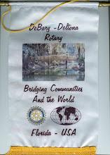 Photo: Rotary Club of DeBary-Deltona Banner