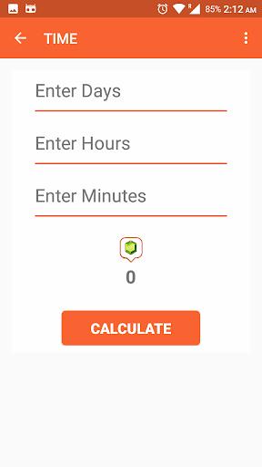 Gem Calculator For Clash - COC 1.2 screenshots 7