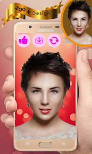 Pretty Girl Hairstyle Photo Editor-Hair Trend 2018 - náhled