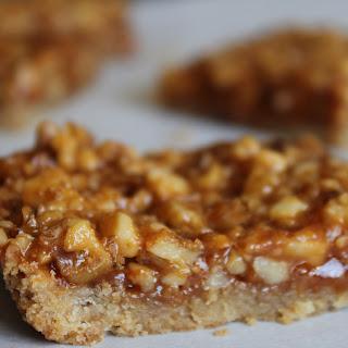 Butterscotch Walnut Cookie Bars