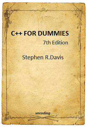 C++ for Dummies - 7th edition