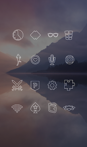玩免費個人化APP|下載ライン - ミニマリストのアイコン app不用錢|硬是要APP