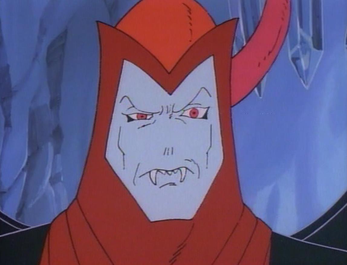 Venger, looking disgruntled
