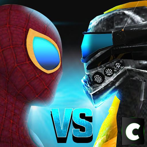 Super Hero VS Robot Battle