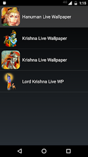 Hanuman Live Wallpaper screenshot