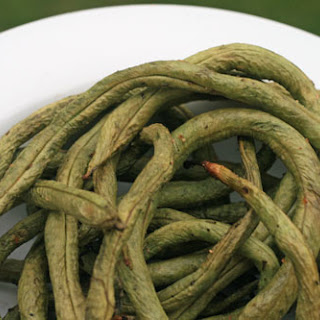 Grilled Pole Beans.