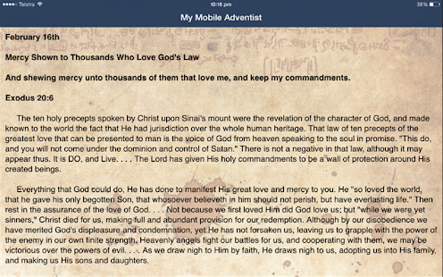 My Mobile Adventist - Apps on Google Play