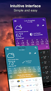 Weather Forecast 14 days - Live Radar by Meteored Screenshot