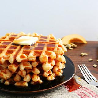 Acorn Squash Waffles.