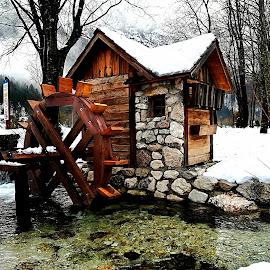 Lake Jasna, Slovenia by Zoja Klinar - Buildings & Architecture Public & Historical