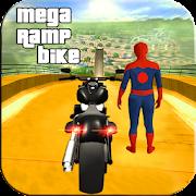 Spiderman Impossible Mega Ramp Bike BMX Track