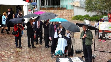 Photo: Holodomor Memorial Day at Federation Square, Melbourne, Australia
