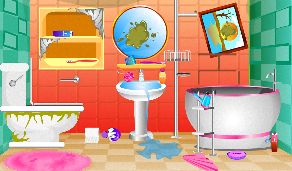 Bathroom cleaning girls games Android Apps on Google Play