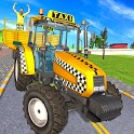 Tractor Taxi Simulator Modern Tractor Taxi game 21 icon