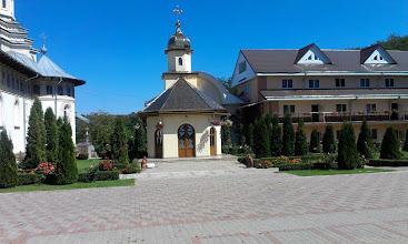Photo: Параклис в двора на манастира.
