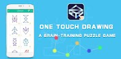 (APK) تحميل لالروبوت / PC One touch Drawing ألعاب screenshot