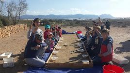 Talleres Infantiles de Excavación de Fósiles en Centro de Visitantes Las Amoladeras.