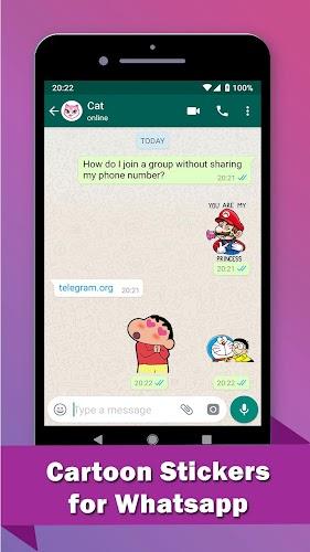 WAStickerApps Kids - Cartoon Stickers for WhatsApp APK