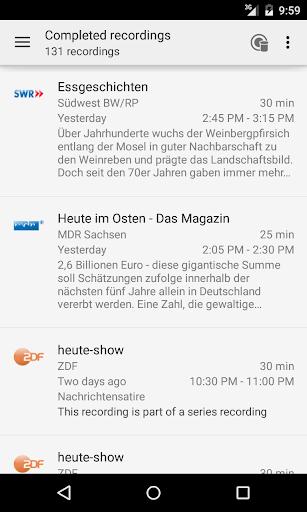 TVHClient  screenshots 2