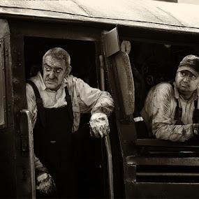 Railway 9049 by Jani Novak - People Portraits of Men ( railway )