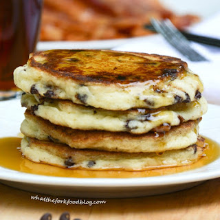 Kelsey's Chocolate Chip Pancakes