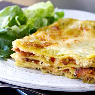 Lasagna Carbonara.