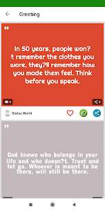 Whats Buddy –  Status, Quotes for Friends & Share App Download For Android 3