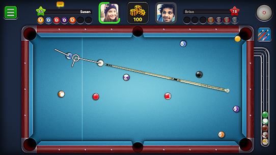 8 Ball Pool Mod Apk 5.2.1 (Long Lines + Stick Guideline + No Ads) 1