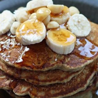 Coconut, Banana, & Macadamia Nut Pancakes
