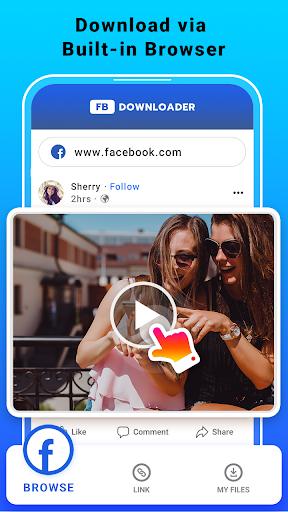 Video Downloader for Facebook - FB HD Video Saver  screenshots 1