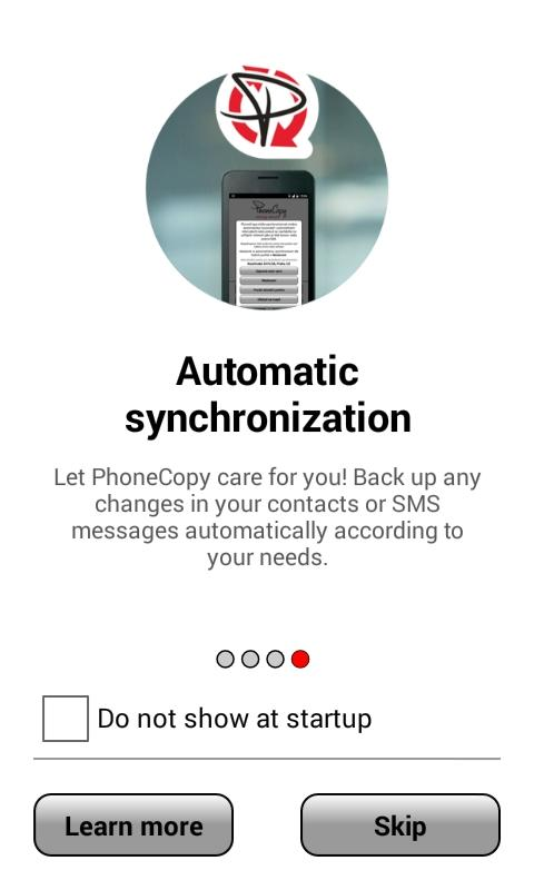 PhoneCopy - screenshot