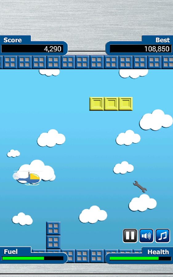 Awesome Copter Game- screenshot